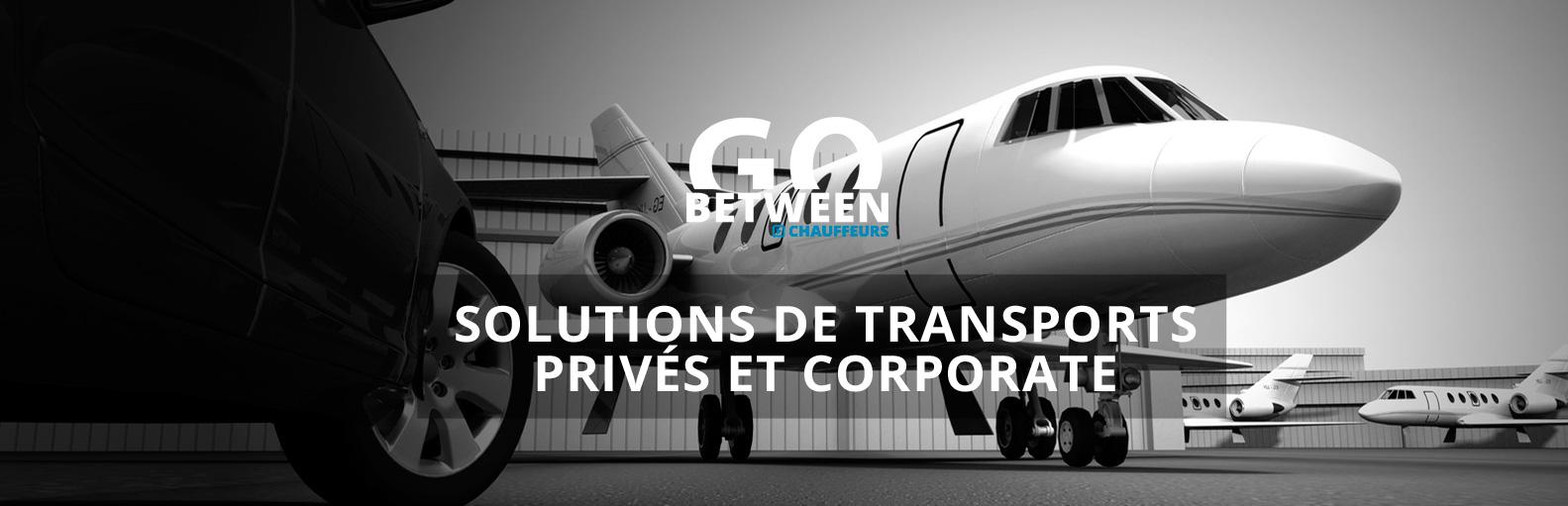 Transports privés transports corporate transport entreprise chauffeur privé VTC avec ou sans voiture