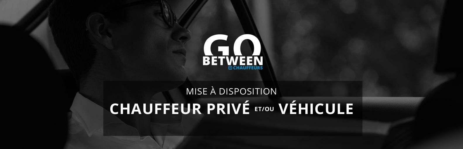 chauffeur privé VTC avec ou sans voiture