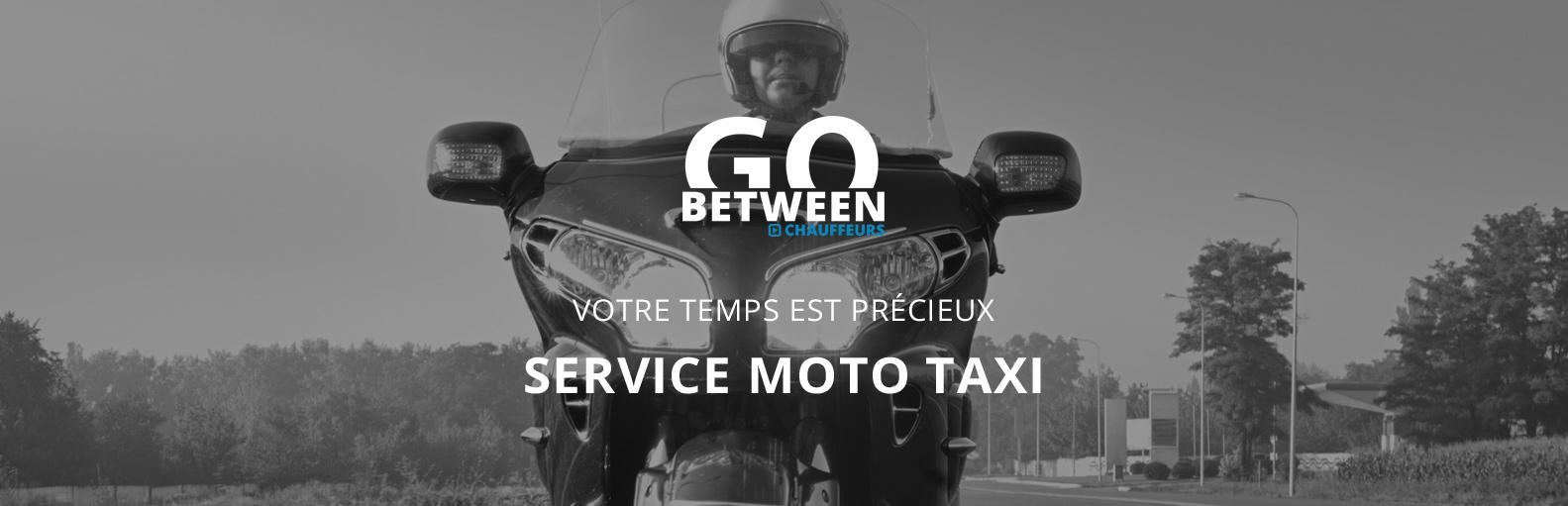 Taxi moto chauffeur privé VTC avec ou sans voiture