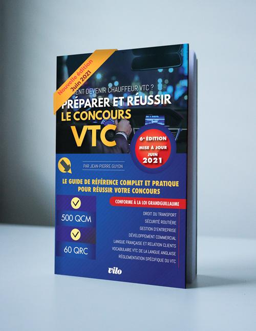 Livre examen VTC 2021 Formation VTC Concours VTC