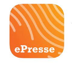 logo ePresse pour Glint Magazine
