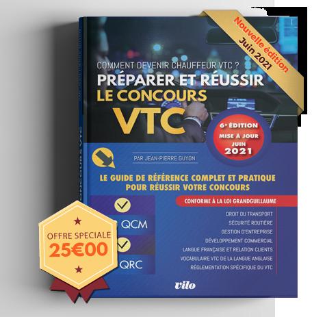 Livre VTC Formation examen VTC Concours VTC
